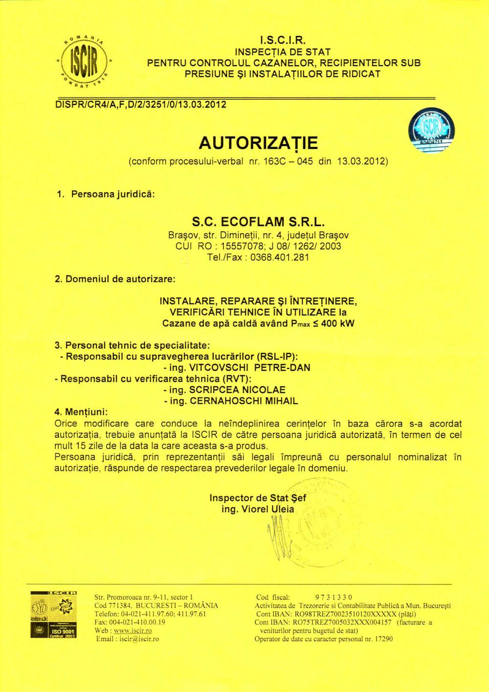 Autorizatii